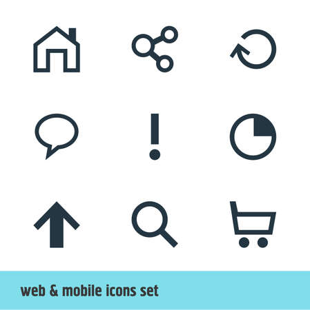 interjection: Vector Illustration Of 9 User Icons. Editable Pack Of Publish, Stopwatch, Top And Other Elements.