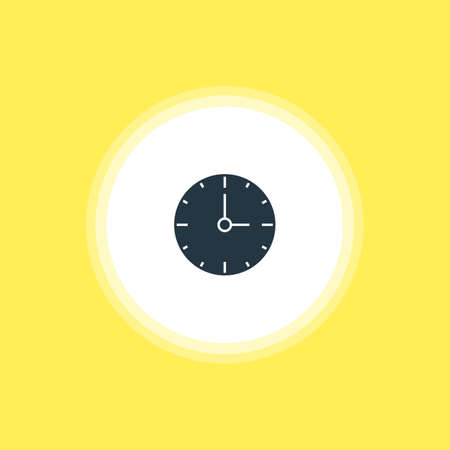 Vector Illustration Of Time Icon. Beautiful Internet Element Also Can Be Used As Clock Element.
