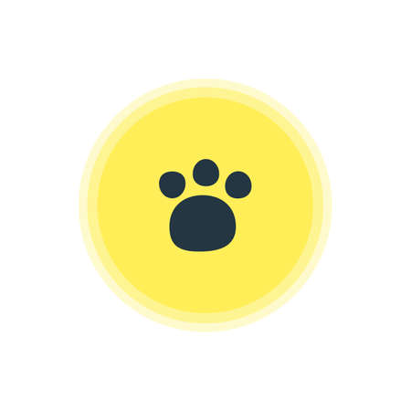 Vector Illustration Of Zoo Icon. Beautiful Travel Element Also Can Be Used As Pet Shop Element.