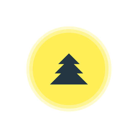 Vector Illustration Of Forest Icon. Beautiful Location Element Also Can Be Used As Jungle  Element. Illustration