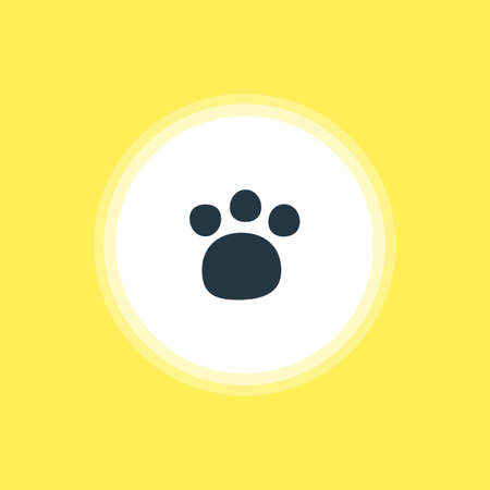 Vector Illustration Of Zoo Icon. Beautiful Check-In Element Also Can Be Used As Pet Shop Element.