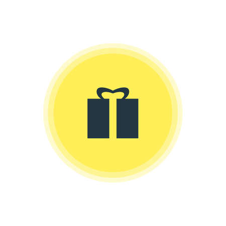 Vector Illustration Of Gift Icon. Beautiful Check-In Element Also Can Be Used As Present Element.