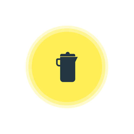 decanter: Vector Illustration Of Carafe Icon. Beautiful Kitchenware Element Also Can Be Used As Jug  Element.