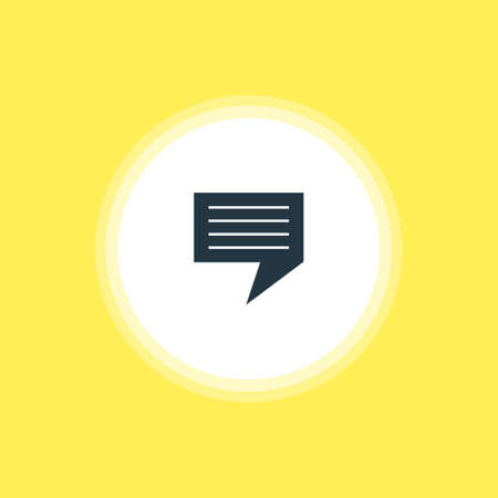 be: Vector Illustration Of Message Icon. Beautiful Online Element Also Can Be Used As Chat Element. Illustration