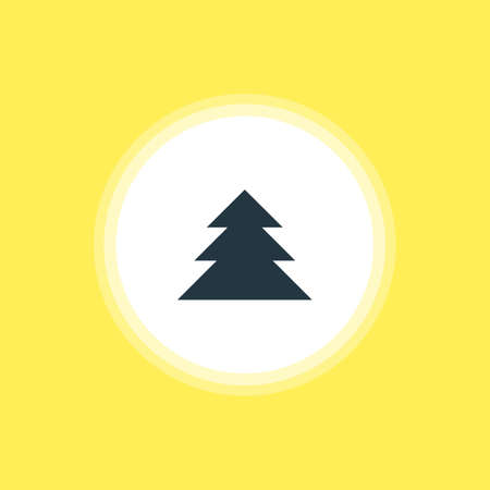 Vector Illustration Of Forest Icon.