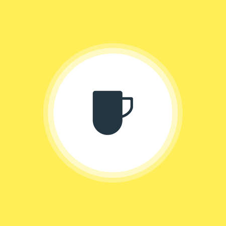 housewares: Vector Illustration Of Coffee Mug Icon. Beautiful Kitchenware Element Also Can Be Used As Tea Cup Element.