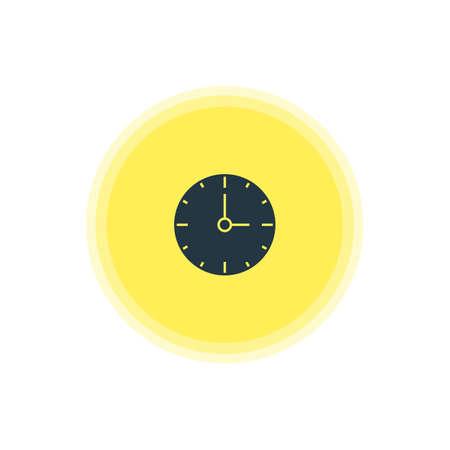 Vector Illustration Of Time Icon. Illustration