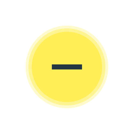 Vector Illustration Of Remove Icon. Beautiful User Element Also Can Be Used As Minus  Element.