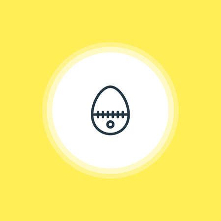 Vector Illustration Of Egg Split Icon. Beautiful Restaurant Element Also Can Be Used As Breakfast Element.