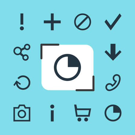 Vector Illustration Of 12 Member Icons. Editable Pack Of Publish, Plus, Downward And Other Elements.