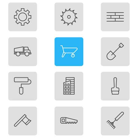 auto repair: Industrial icons.