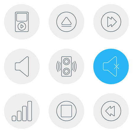 Music Melody icons. Stock Vector - 83999703