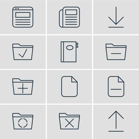 Bureau icon concept.