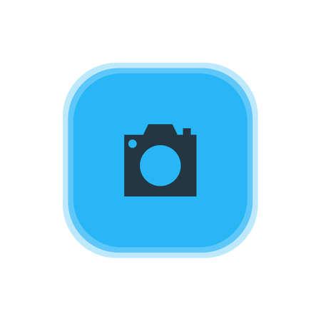 Camera icon concept.
