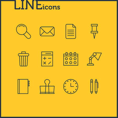 drawing pin: Tools icon concept. Illustration