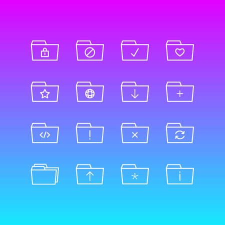Folder icon concept.