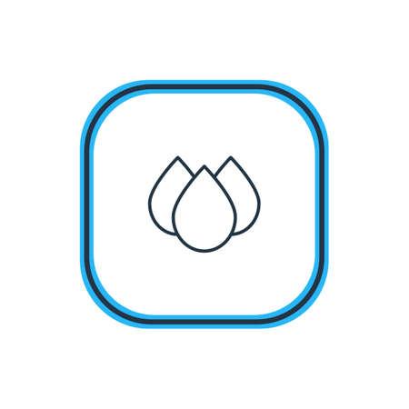 hygienic: Drip icon concept. Illustration