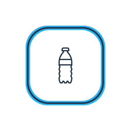 Beautiful Medicine Element Also Can Be Used As Plastic Bottle Element. Illustration
