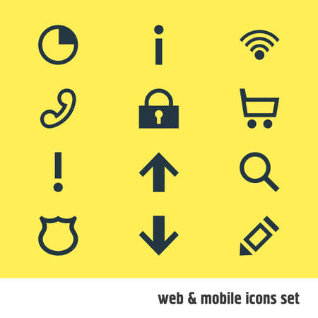 Editable Pack Of Wheelbarrow, Downward, Stopwatch And Other Elements.  Vector Illustration Of 12 Member Icons.