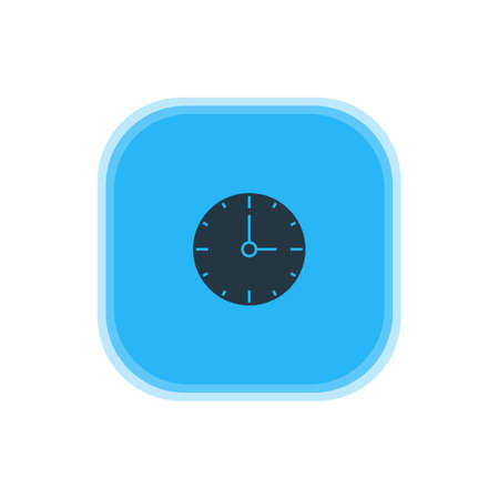 Vector Illustration Of Time Icon