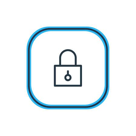 Beautiful App Element Can Be Used As Closed Element. Illusztráció