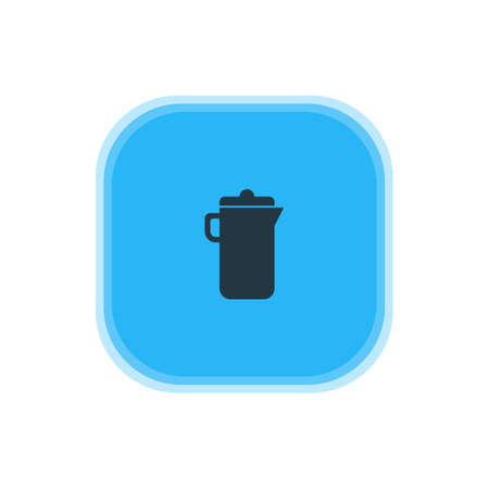 decanter: Vector Illustration Of Carafe Icon. Beautiful Restaurant Element Also Can Be Used As Jug  Element.