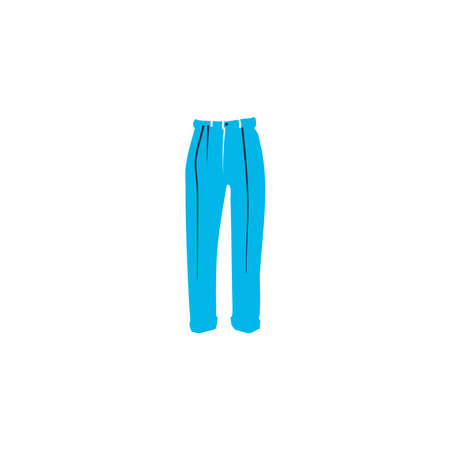 Classic pants icon colored symbol. Premium quality isolated trousers element in trendy style.