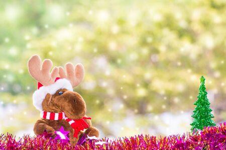 xmas background: reindeer xmas background