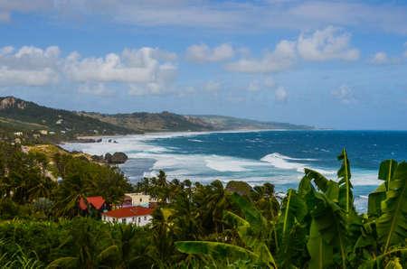 Bathsheba beach Barbados from horse hill