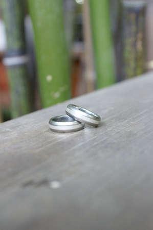 Anelli di nozze 2 Archivio Fotografico - 7443677