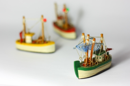 3 different boats photo