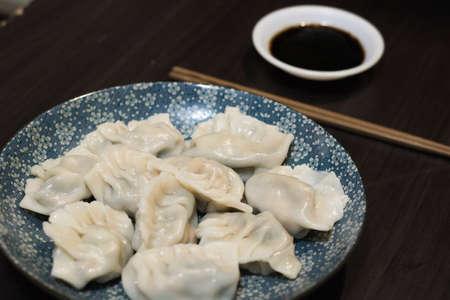 Home-made recipe for dumplings.