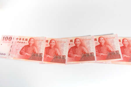 Cash, Taiwan currency,NTD, money, Taiwan Coin, Taiwan money.