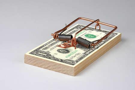 piege souris: Photo de l'argent Mouse Trap Banque d'images