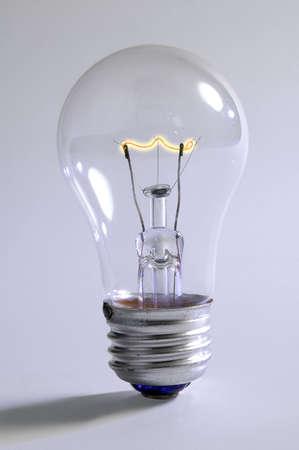 Light bulb beginning to provide light Stock Photo - 491191