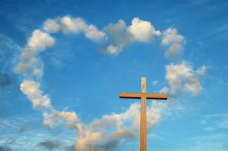 Love and the cross meet to change History Stock Photo - 513329
