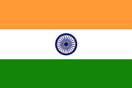 flag pole: Indian Flag Stock Photo
