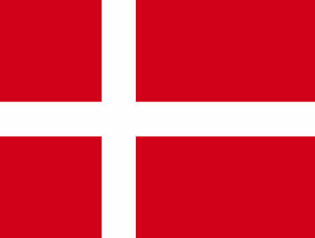danish flag: Denmark flag