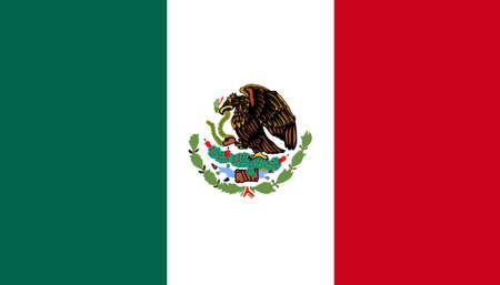 bandera mexicana: Bandera de Mexico  Foto de archivo