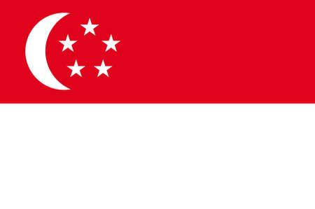 national identity: Bandiera di Singapore