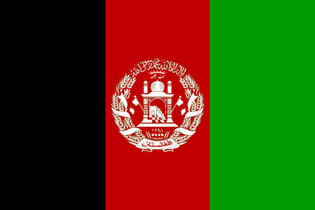 Flag of Afghanistan photo