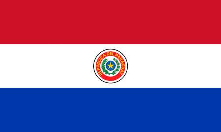 Paraguay: Drapeau du Paraguay