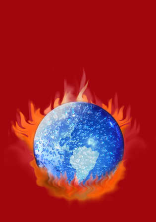 controversy: Are we cooking the global climate or is it a natural cycle? The controversy goes on.