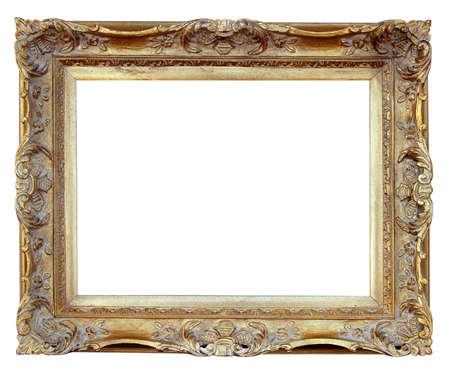 ornamentations: Vintage Frame su sfondo bianco (With Clipping Path)