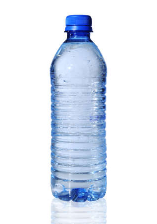 Bottled water isolated over a white background Banco de Imagens - 7751367