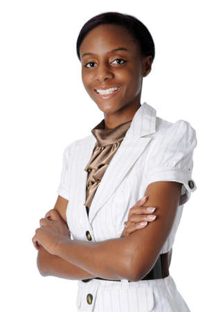 Young Businesswoman with arms folded Stock Photo - 7793894