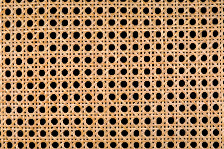 Wicker detail of intertwined patterns photo