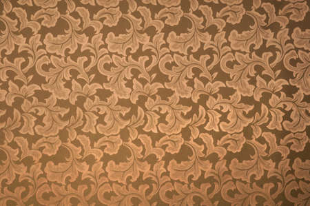 Antique wallpaper background with floral patterns photo
