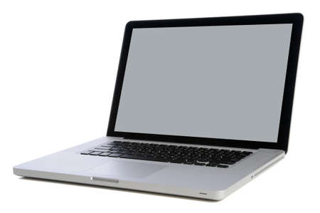 lap top: Lap top computer isolated over white background