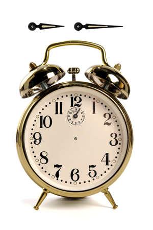 Vintage alarm clock Stockfoto